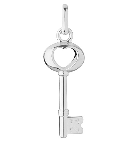 LINKS OF LONDON 21st Birthday sterling silver key charm