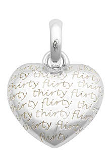 LINKS OF LONDON Flirty Thirty sterling silver charm