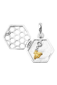 LINKS OF LONDON Sweeter than Honey sterling silver locket charm