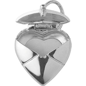 Sending you my love sterling silver charm