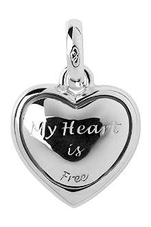 LINKS OF LONDON Decisions of the Heart sterling silver charm