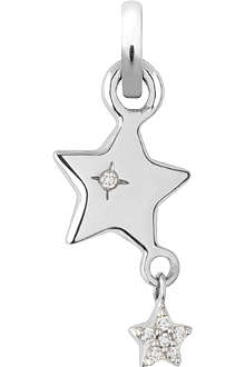 LINKS OF LONDON Wish Upon a Star 18-carat white gold charm