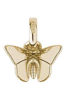 LINKS OF LONDON Butterfly 18-carat gold charm