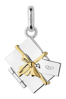 LINKS OF LONDON Christmas Envelope sterling silver charm