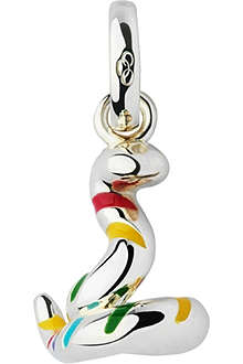 LINKS OF LONDON Snake Chinese Zodiac sterling silver charm