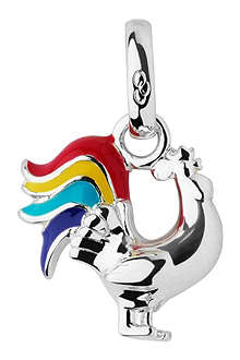 LINKS OF LONDON Rooster Chinese Zodiac sterling silver charm