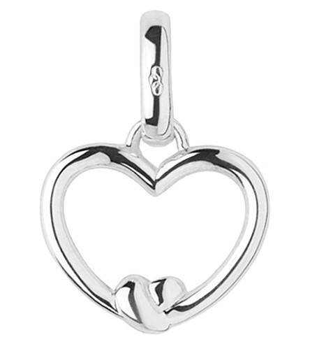 LINKS OF LONDON Tie The Knot sterling-silver heart charm