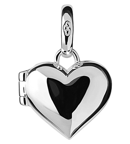 LINKS OF LONDON Heart Locket sterling-silver charm