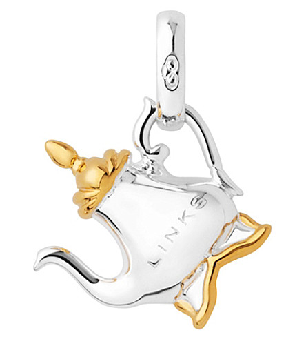 LINKS OF LONDON Teapot sterling silver and yellow gold charm (Silver