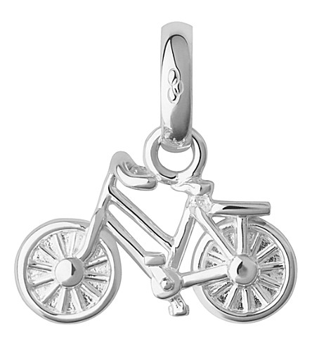 LINKS OF LONDON Sterling silver bike charm (Silver