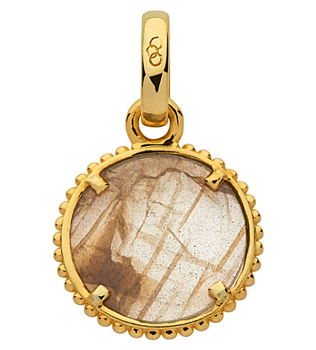 LINKS OF LONDON Amulet 18ct yellow gold vermeil self discovery charm