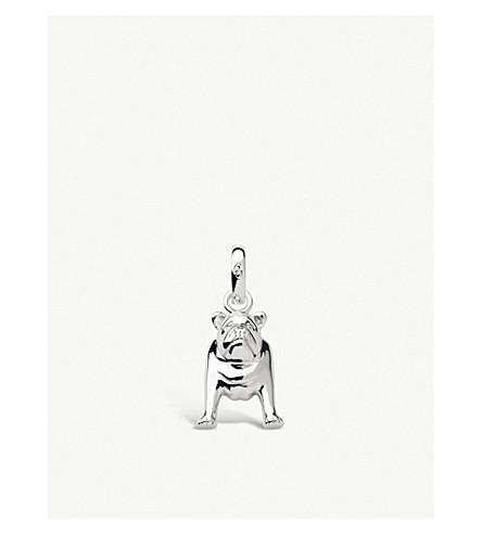 LINKS OF LONDON Bulldog sterling silver charm