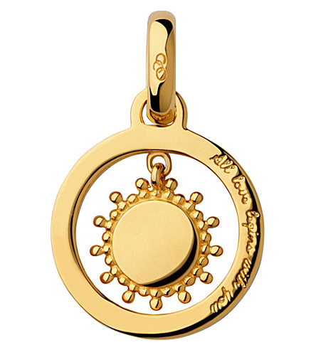 LINKS OF LONDON Mother's Say 18ct yellow gold vermeil sun charm (Gold