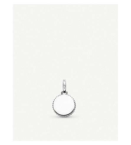 LINKS OF LONDON Narrative mini disc sterling silver pendant
