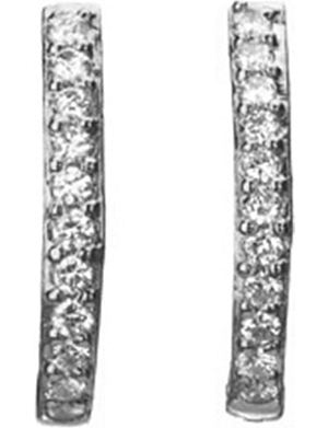 LINKS OF LONDON Watch Over Me 18ct white gold diamond earrings