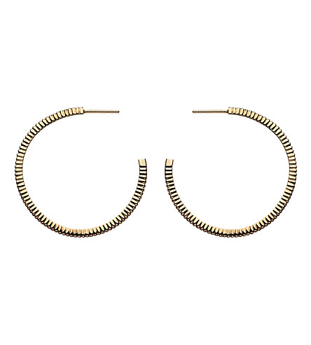 LINKS OF LONDON Sweetie Signature 18ct gold earrings hoop earrings
