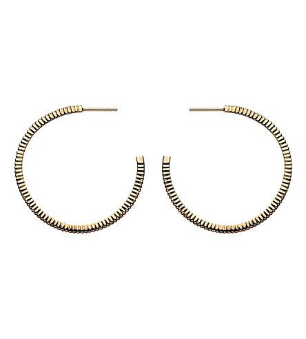LINKS OF LONDON 可爱签名18ct 金耳环箍耳环