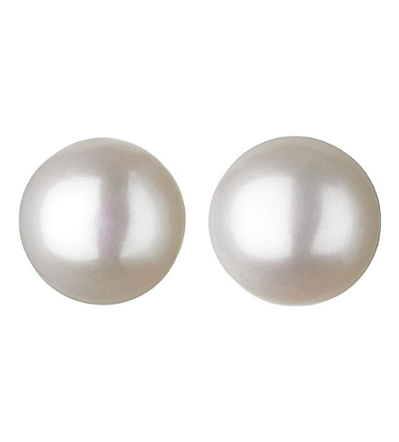 LINKS OF LONDON Effervescence white pearl stud earrings