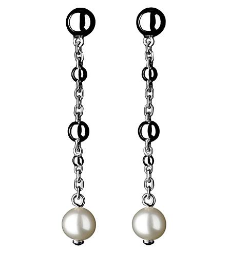 LINKS OF LONDON Effervescence Bubble Stiletto sterling silver earrings