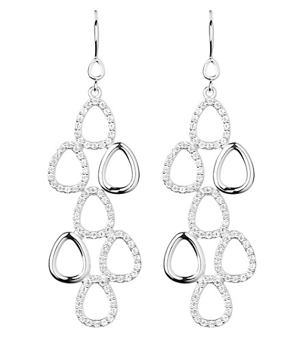 LINKS OF LONDON Hope silver topaz earrings