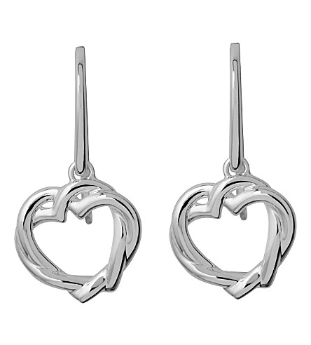 LINKS OF LONDON Kindred soul sterling silver earrings (Silver