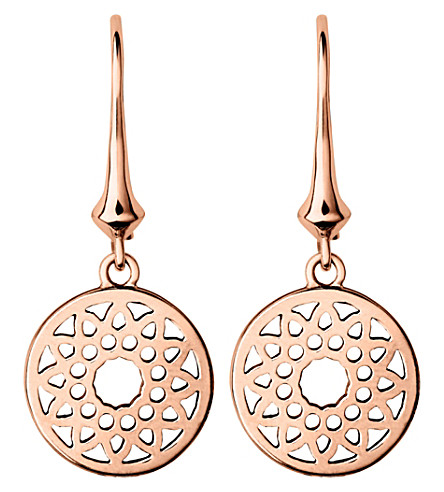 LINKS OF LONDON Timeless 18ct rose-gold earrings