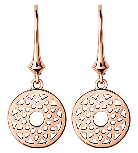 LINKS OF LONDON 永恒的18ct 玫瑰金耳环