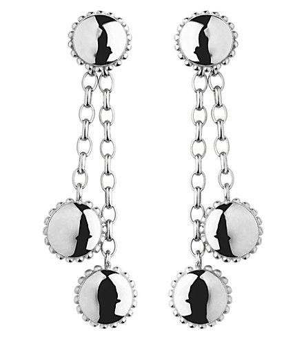 LINKS OF LONDON Amulet sterling silver drop earrings (Silver