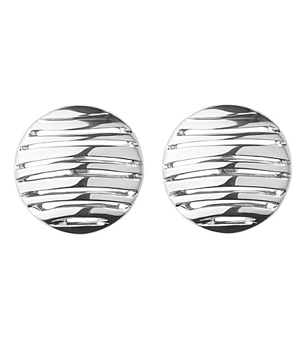 LINKS OF LONDON Thames sterling silver stud earrings (Silver