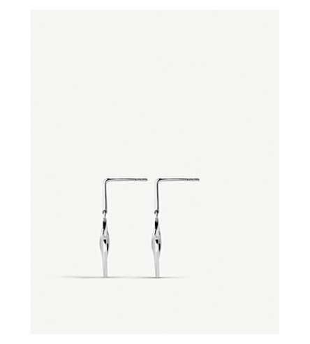 LINKS OF LONDON Infinite Love sterling silver earrings