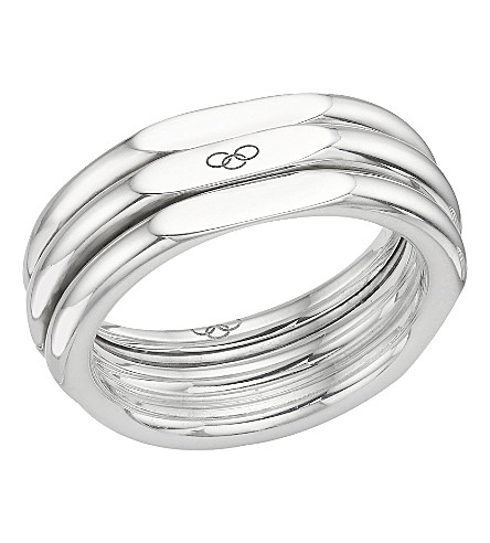 LINKS OF LONDON 20/20 经典 STERLING 银 RING