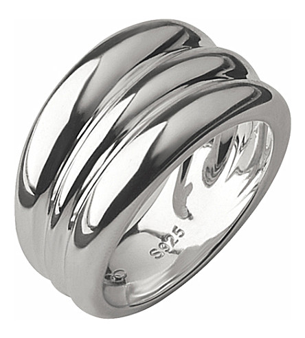 LINKS OF LONDON Hope triple stack sterling silver ring
