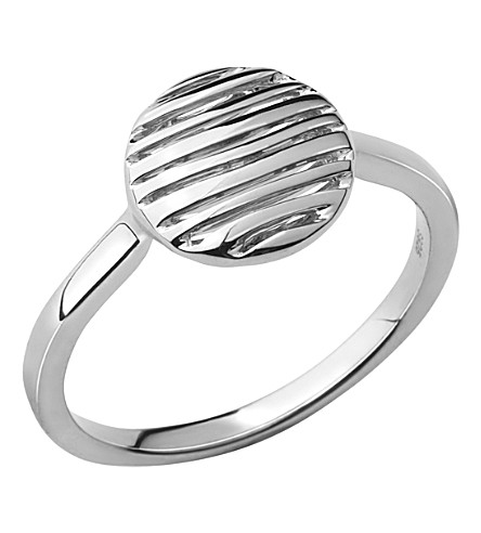 LINKS OF LONDON Thames sterling silver ring (L