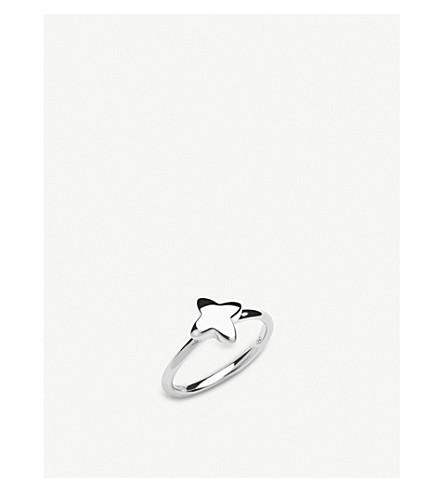 LINKS OF LONDON Splendour sterling silver four-point star ring