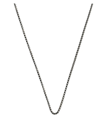 LINKS OF LONDON Soho silver chain necklace