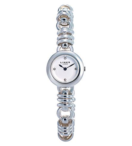 LINKS OF LONDON 6010.0444 Sweetie stainless steel bracelet watch (Silver