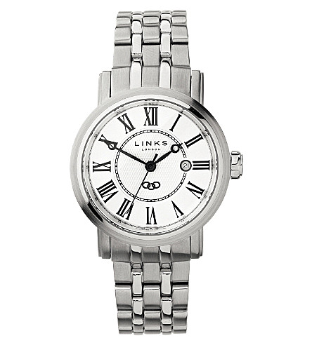 LINKS OF LONDON Richmond stainless steel watch