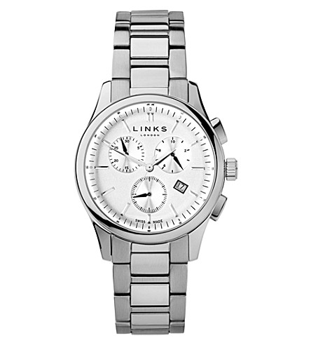 LINKS OF LONDON 6020.1156 Regent Chronograph stainless steel watch (Silver
