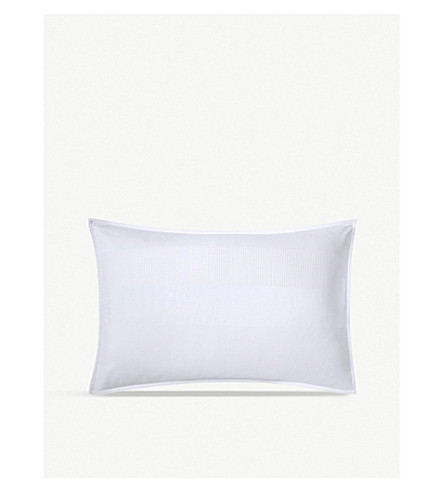 CALVIN KLEIN Miranda cotton standard pillowcase 50x75cm (White