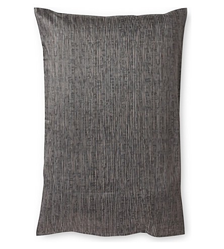 CALVIN KLEIN Acacia textured pillow case large (Text