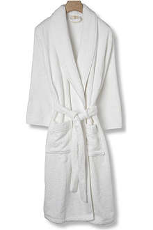 CK HOME Cotton robe optic white