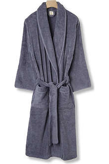 CK HOME Cotton robe carob