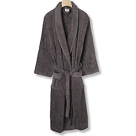 CK HOME Cotton robe charcoal (Charcoal