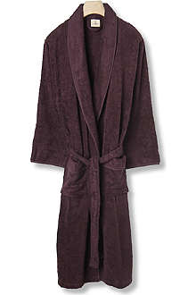 CK HOME Cotton robe plum
