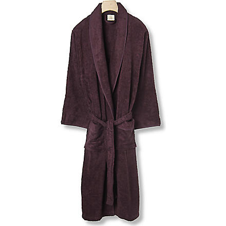 CK HOME Cotton robe plum (Plum