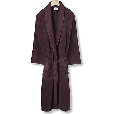 CK HOME Cotton robe plum (Plum