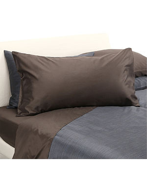 CALVIN KLEIN HOME Etched Bark king pillowcase