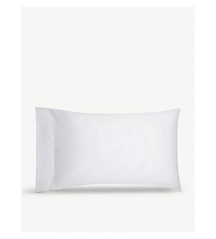 CALVIN KLEIN 缎纹标准枕套 50x75 (白色