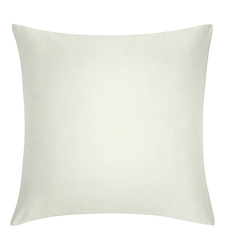 CALVIN KLEIN Satin cotton square pillowcase (Cream