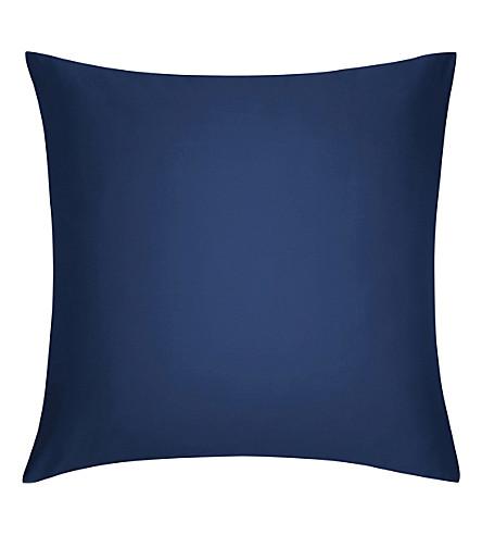 CALVIN KLEIN Satin square pillowcase 65cm x 65cm (Navy